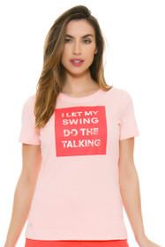 Adidas Women's Swing Graphic Tee