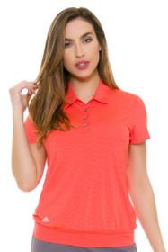 Adidas Women's Chevron Tunic Golf Short Sleeve Polo