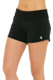 Oiselle Women's Roga Black Running Shorts