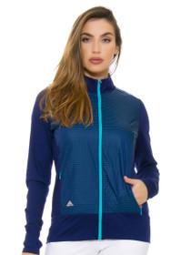 Adidas Women's Night Sky Technical Lightweight Wind Jacket