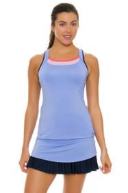 Lucky In Love Women's Vantage Long Drop Pleat Ice Tennis Skirt