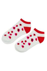 EP Pro NY Women's Poppy Fields Floral Sport Socks