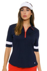 GGBlue Women's Olympic Era Iris Golf Polo Shirt