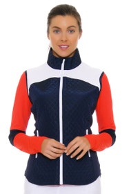 GGBlue Women's Olympic Era Jada Navy Vest