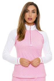 Fairway & Greene Women's Flourishing Neve Golf Long Sleeve Top
