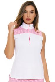 Fairway & Greene Women's Flourishing Cate Golf Sleeveless Shirt