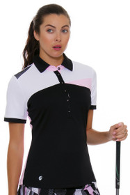 GGBlue Women's Black Dahlia Zara Golf Polo
