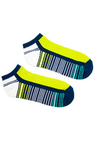 EP Pro NY Women's Palmetto Bargello Blocked Sport Socks