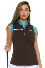 GGBlue Women's Serengeti Piper Mud Golf Sleeveless