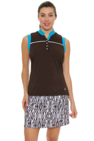 GGBlue Women's Serengeti Marker Zebra Golf Skort