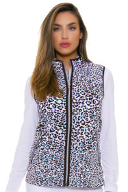 GGBlue Women's Serengeti Ryan Cheetah Vest
