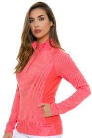 Adidas Women's Easy Coral Half Zip Jacket