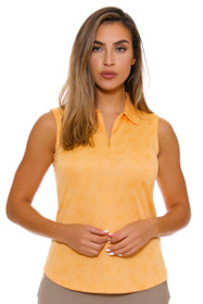 Greg Norman Women's Marrakesh Pineapple Print Golf Sleeveless