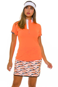 Annika Women's Digital Pull-On Printed Golf Skort