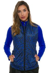 Greg Norman Women's Animal Instincts Quilted Reversible Vest
