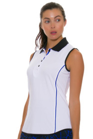 Greg Norman Women's Animal Instincts Piped Golf Sleeveless