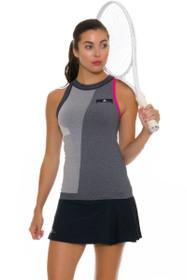 Stella McCartney Women's Barricade Navy Pleated Tennis Skirt