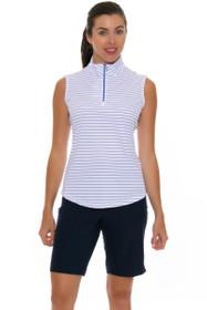 Greg Norman Women's Essentials ML75 Microlux Navy Golf Shorts