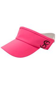 Sofibella Neon Pink Elastic Visor