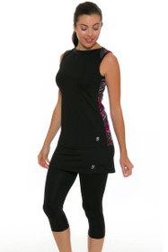 Sofibella Women's Dark Night Abaza Tennis Skirt Leggings