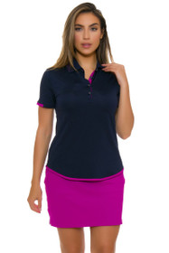 Greg Norman Women's Savannah Texture Knit Golf Skort