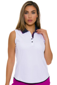 Greg Norman Women's Savannah Contrast Trim Golf Sleeveless