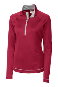 Cutter and Buck Women's Basics Evolve Half Zip Golf Top
