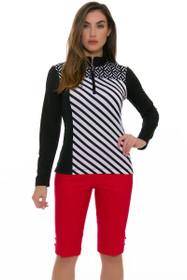 Swing Control Women's Spring Eyelet Master Golf Shorts
