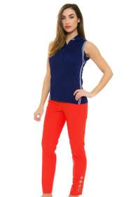 Swing Control Women's Spring Grommet Master Golf Ankle Pants