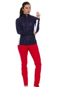 Swing Control Women's Spring Basic Slim Golf Pants