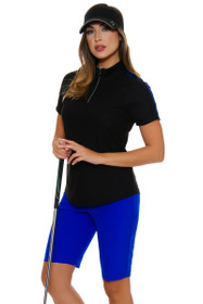 Greg Norman Women's Animal Instincts Twill Golf Shorts
