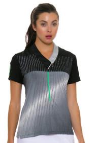 Jamie Sadock Women's Emerald Ombre Golf Polo