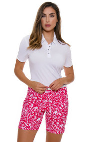 Adidas Women's Energy Essential Printed 7 IN Golf Short