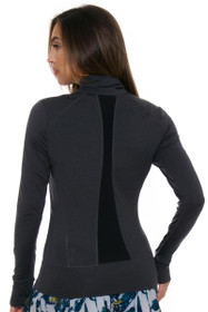 Lole Women's Essential Up Black Heather Jacket