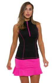 Kevan Hall Sport Women's Adorable Pink Pull On Golf Skort