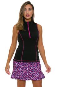 Kevan Hall Sport Women's Adorable Flippy Pull On Golf Skort