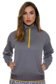 Adidas Women's Energy Trace Grey Fashion Wind Pullover