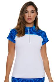 Annika Women's Warrior Treya Golf Short Sleeve Polo