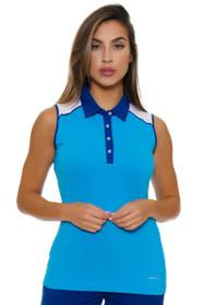 Annika Women's Warrior Pria Golf Sleeveless Polo