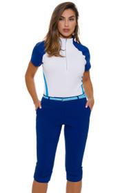 Annika Women's Warrior Nova Morgain Long Golf Shorts
