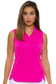 EP Pro NY Women's Rosa Performance Jersey Golf Sleeveless Shirt