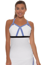 Fila Women's Platinum Persian Jewel Platinum Strappy Tennis Tank