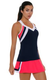 Fila Women's Heritage A-Line Diva Pink Tennis Skirt