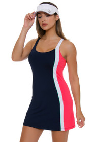 Fila Women's Heritage Solid Colorblock Tennis Dress