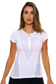 Stella McCartney Women's Barricade Legend White Tennis Top