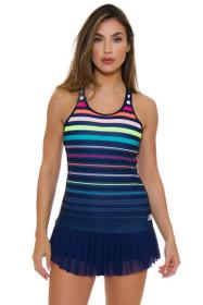 New Balance Women's US Open Akhurst Pigment Print Tennis Tank