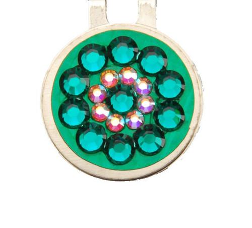Emerald Crystal Ball Marker