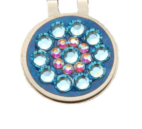 Light Blue Crystal Ball Marker