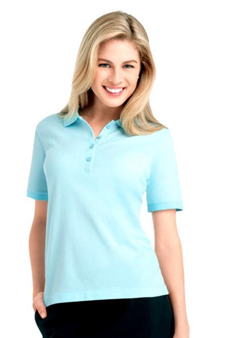 4 Button Short Sleeve Women's Golf Polo EP-5004 Image 8