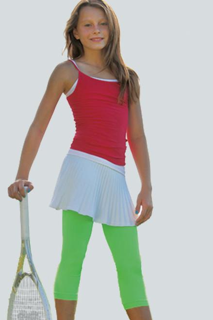 Kids Seamless Performance Crop Legging-7 Colors LIL-S8 Image 3
